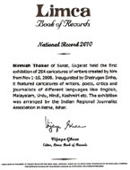 Nirmish Thaker Limca Book Records